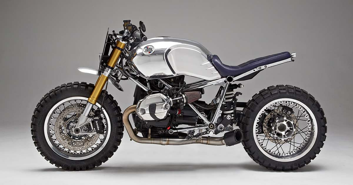 Not so Plain: Jane Motorcycles' gleaming BMW R nineT