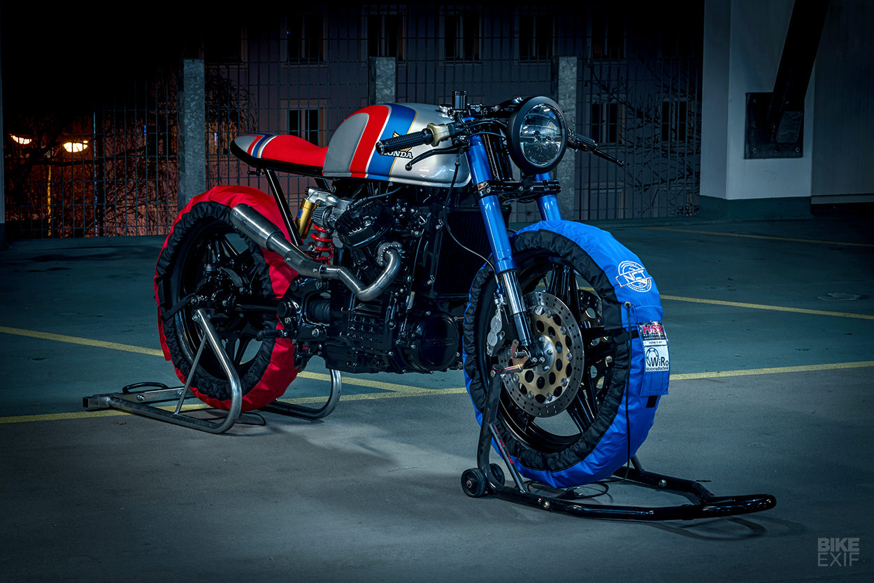 Ready to Rip: NCT Motorcycles' Racy Honda CX500