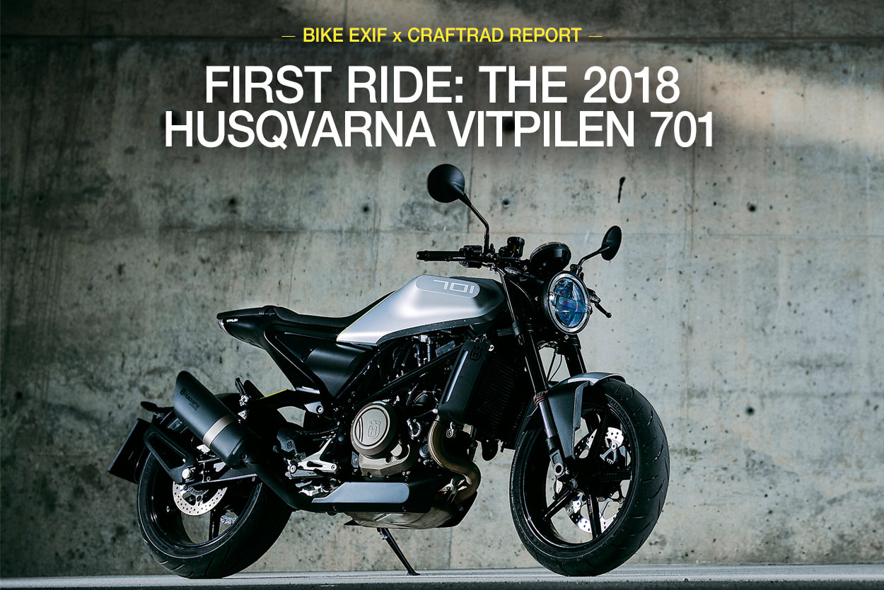 Review: The 2018 Husqvarna Vitpilen 701