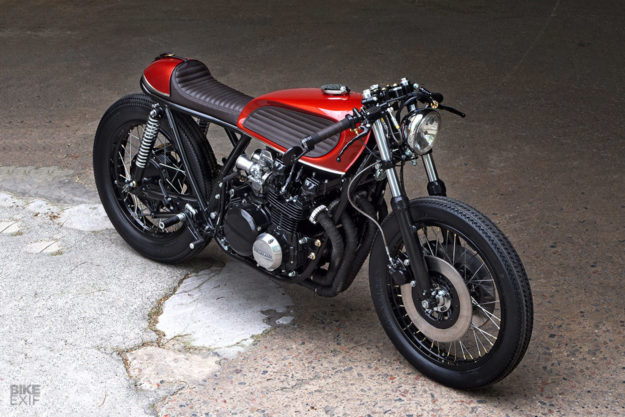 Barn Rescue The Swedish Workshop PAAL Has Restored This Kawasaki KZ650 To Cafe Racer Perfection