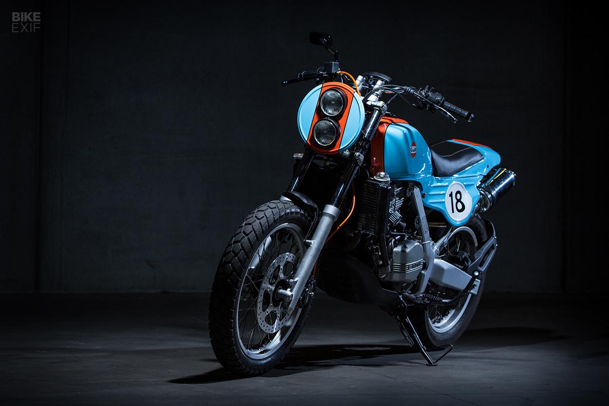 Funduro A Rare Bmw F650 In Gulf Racing Colors Bike Exif