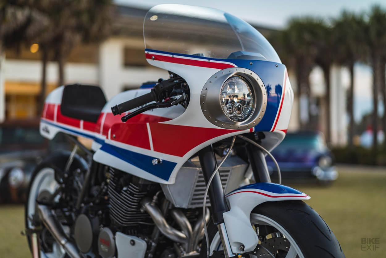 Turbo Maximus: A turbocharged Yamaha XJ750 Maxim restomod