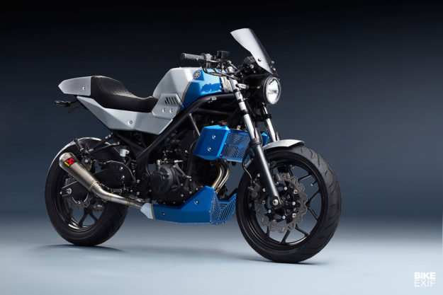 Bolt-On Beauty: A custom kit for the Yamaha MT-03 and MT-25 from Bunker