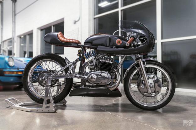 Mark Atkinson's Bultaco Alpina Racer
