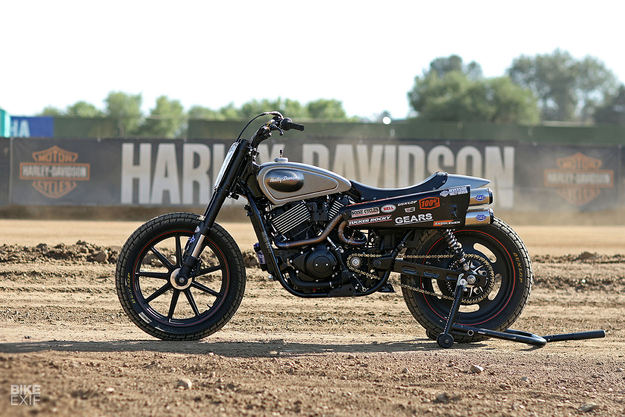 Harley Street Rod flat tracker by Noise Cycles