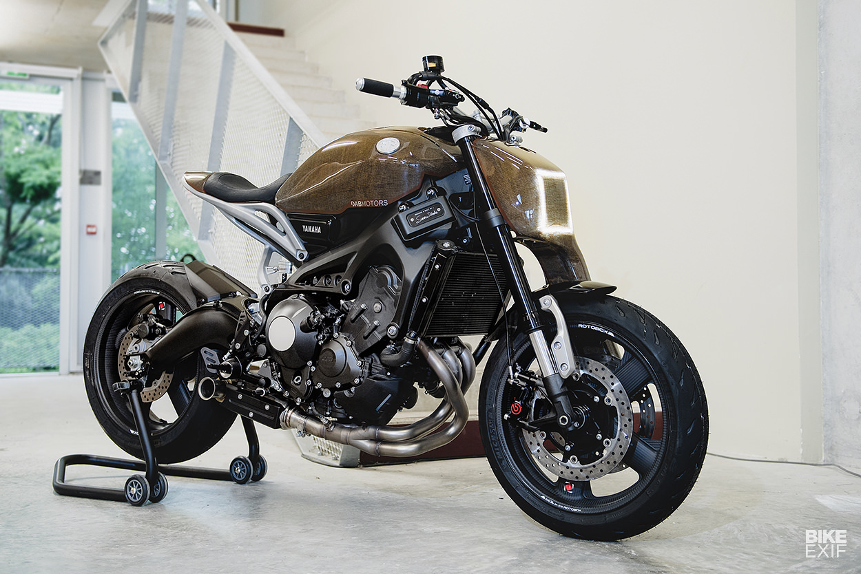 Testbed A Yard Built Yamaha XSR900 Crammed With Cutting Edge Tech