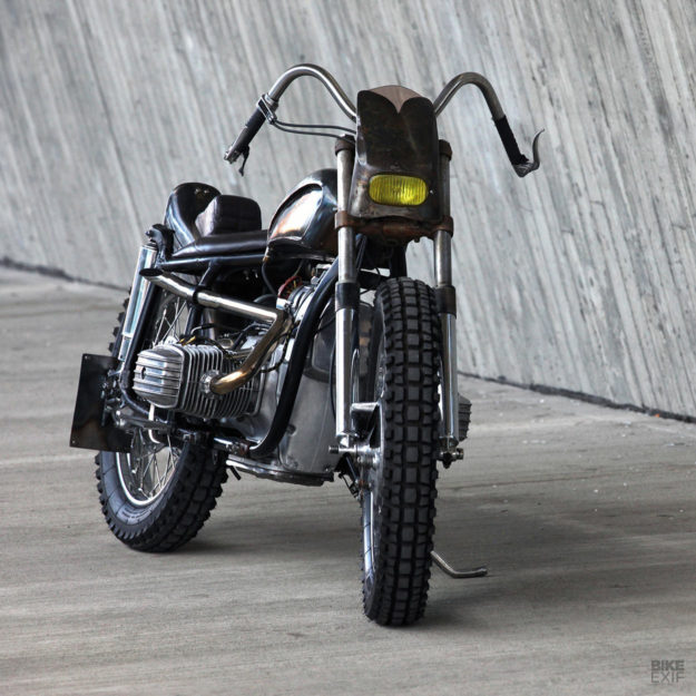 Rat Bike: Nick Heij's custom Dnepr MT11