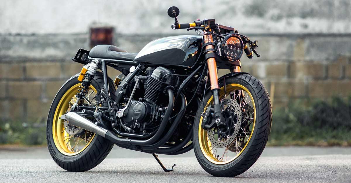 Customer request: A Honda CB750 built to spec