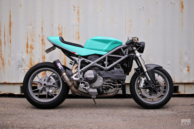 Can Am Cafe A Ducati 848 With Dual Nationality Bike Exif