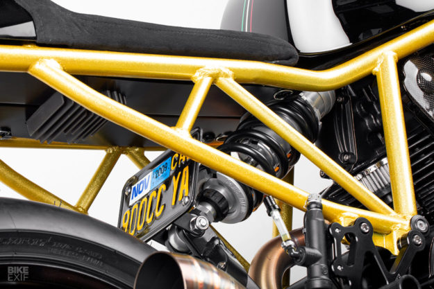 Caffè Nero: A Ducati 900SS cafe racer from Lossa Engineering