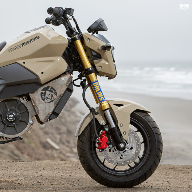 The Grom Reaper: A electric Honda Grom built by a Zero Motorcycles designer