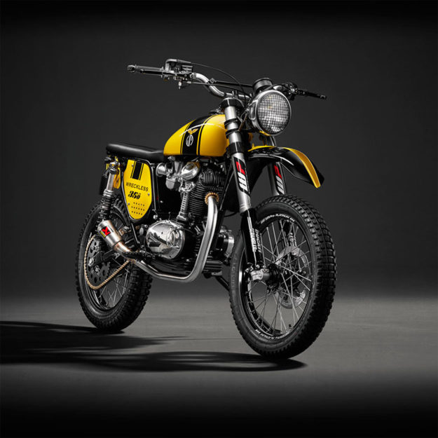 Ducati 350 Scrambler restomod by Wreckless