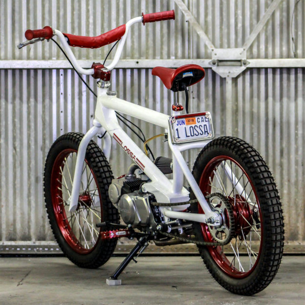 Honda-powered Redline BMX bike