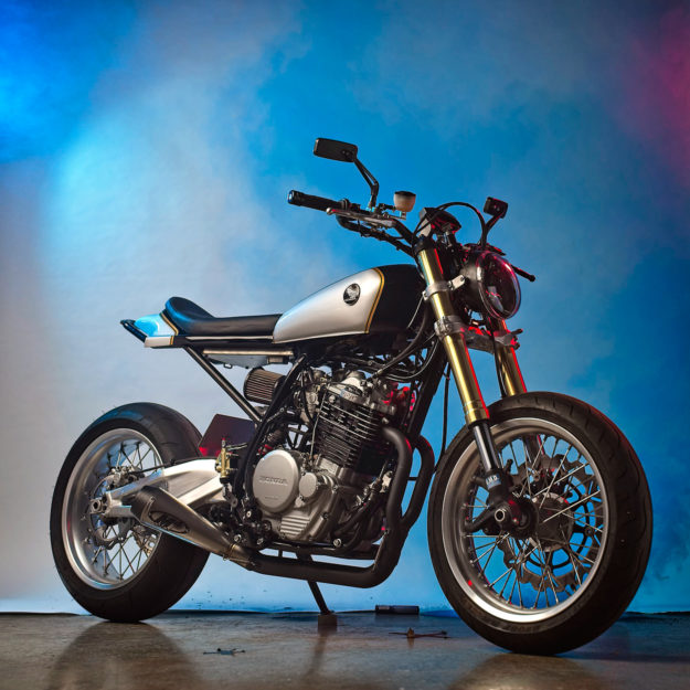 Honda XL600R street tracker by the Lloyd Brothers