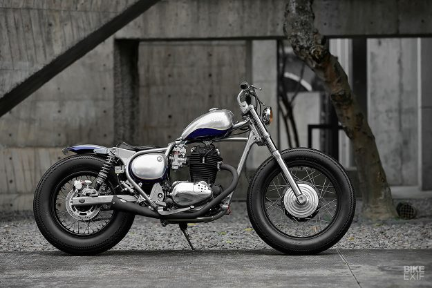 Kawasaki BJ250 Estrella bobber by 2LOUD Custom