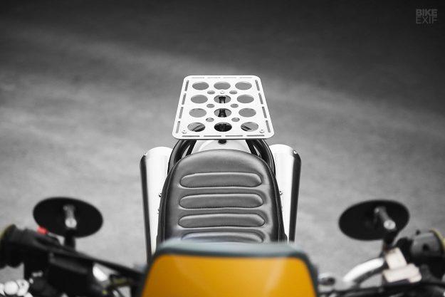 KTM 640 LC4 Supermoto scrambler by car designer Krzysztof Szews