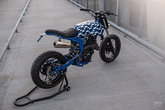 The Yamaha XT 600 gets the supermoto treatment from Bad Winners