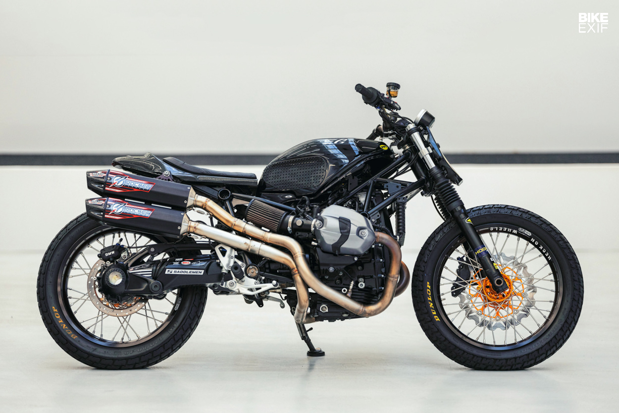 BMW R nineT flat track motorcycle by Gunn Design