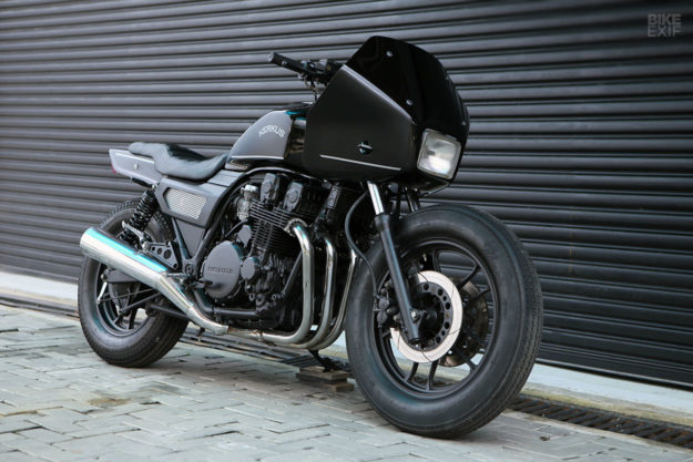 A Honda police motorcycle returns to the streets: Kerkus' CBX750