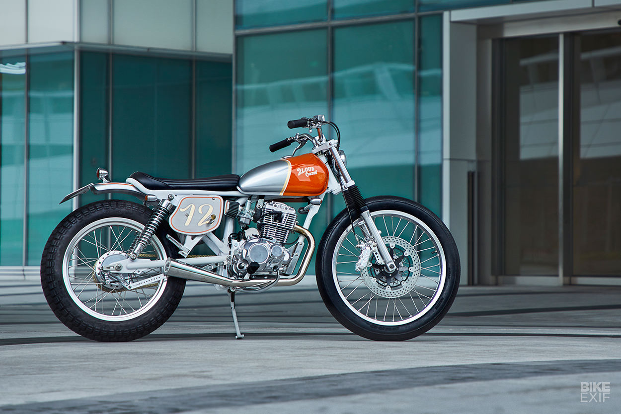 Commuter Bike Perfection: A custom SYM Wolf 125