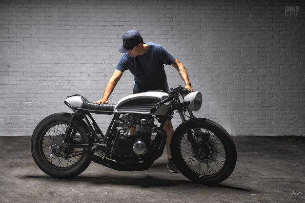 The Honda CB500 cafe racer that kept a Swedish custom shop afloat