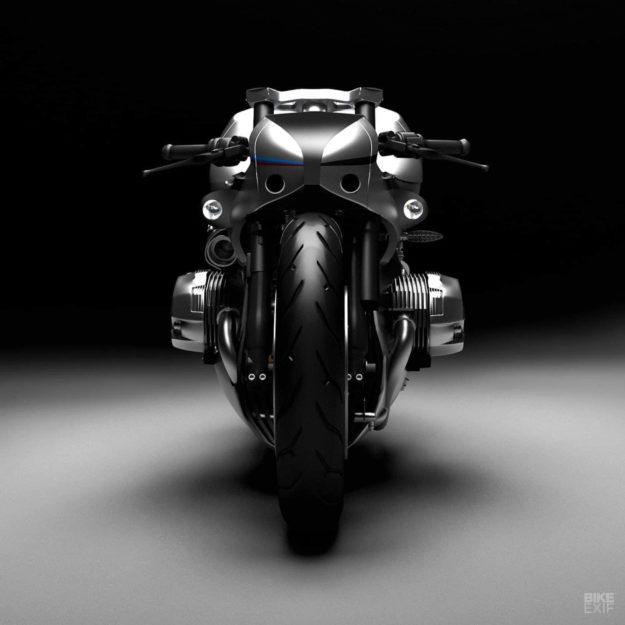 BMW R NineT Aurora concept by Mehmet Doruk Erdem