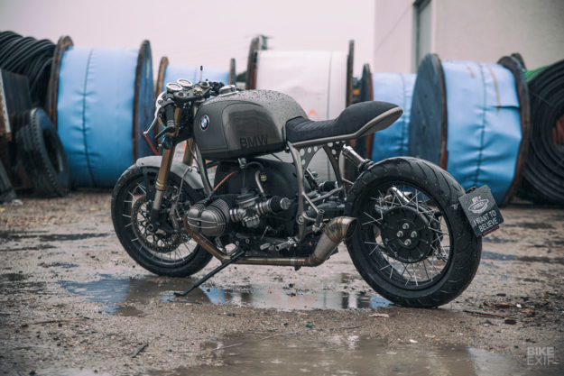 BMW R100R custom motorcycle by UFO Garage
