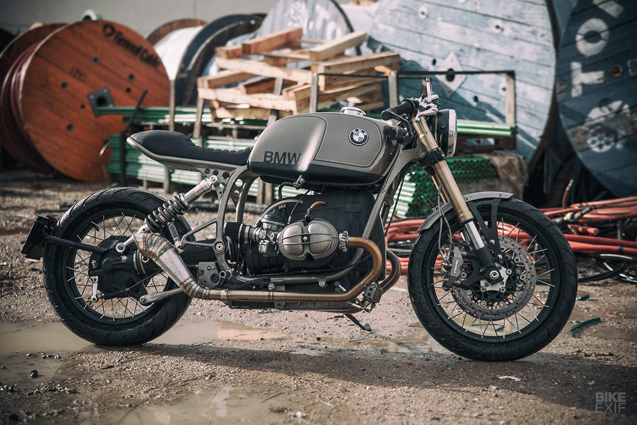 Setting The Bar Ufo Garage S Bmw R100r Cafe Racer Bike Exif