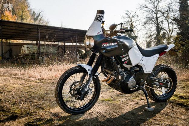 A Yamaha Super Ténéré restomod from North East Custom
