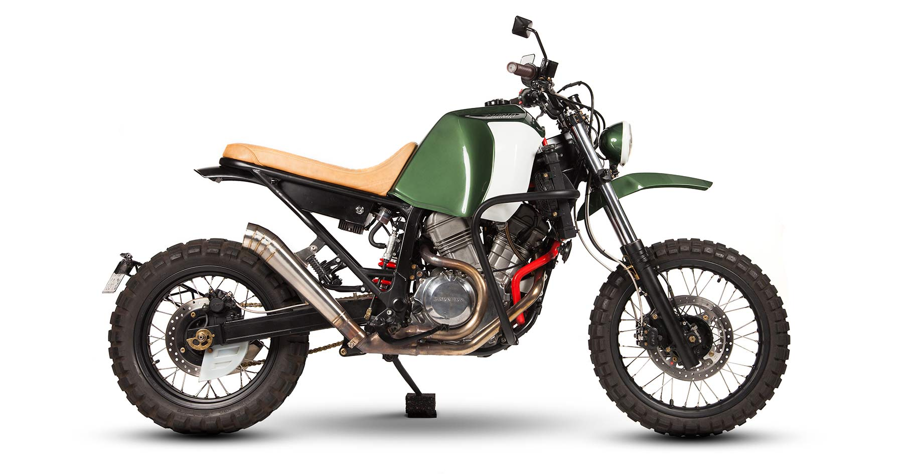 Kalahari: A custom Africa Twin from Maria Motorcycles