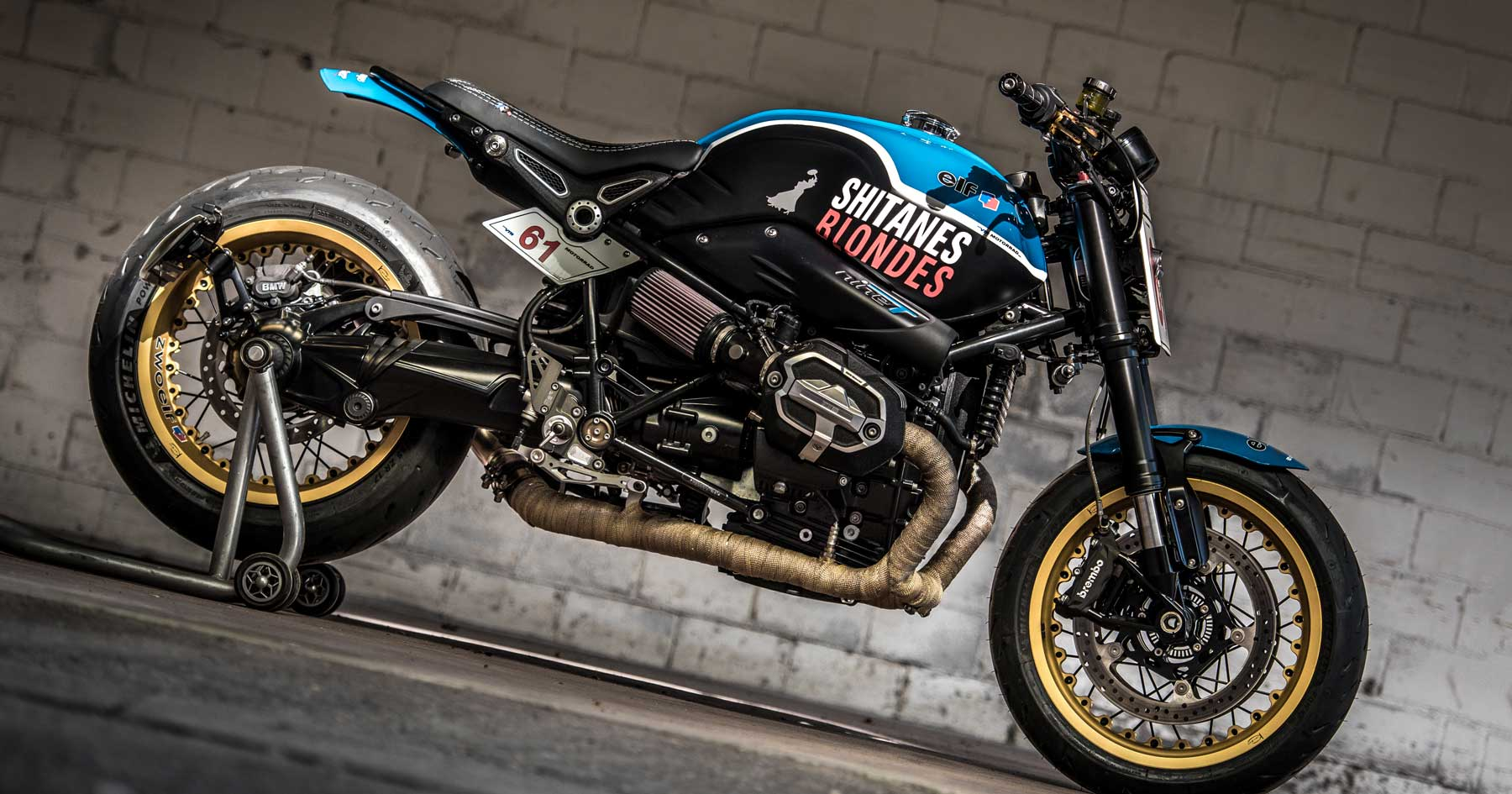 Shitanes 61: VTR Customs' outrageous BMW R nineT