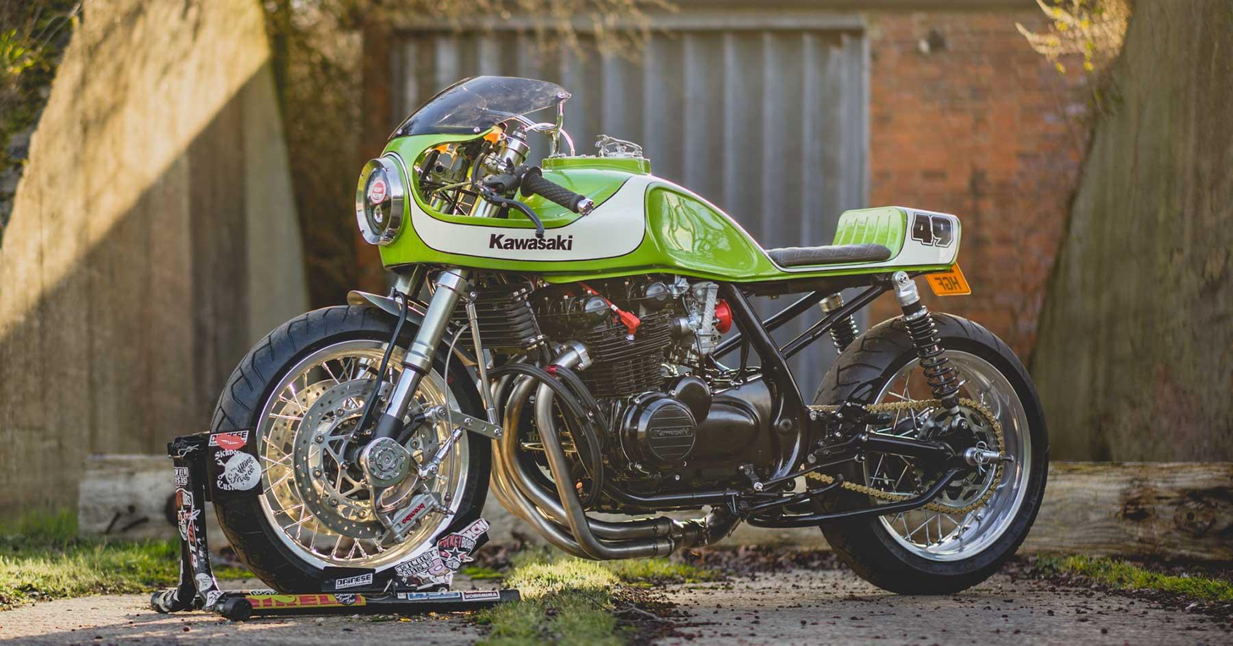 The Nineties are calling: November's Kawasaki Zephyr 750