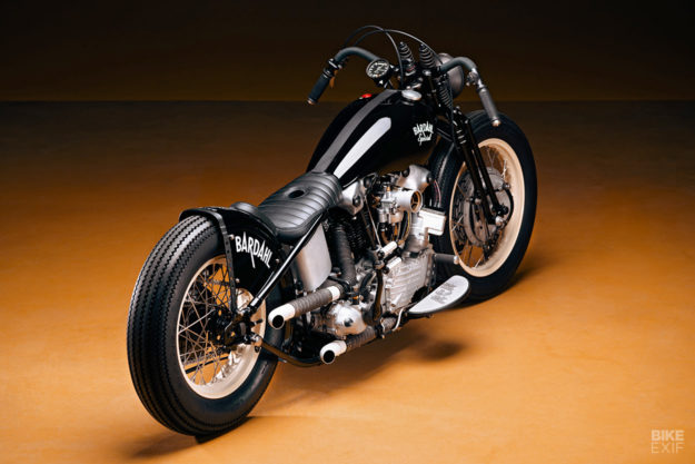 Bardahl Special: A 48 Panhead from Switzerland