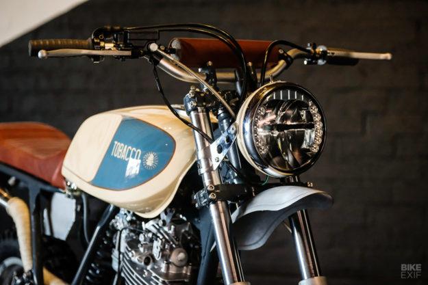 Custom Yamaha XT600 by Gray Wolff Motors