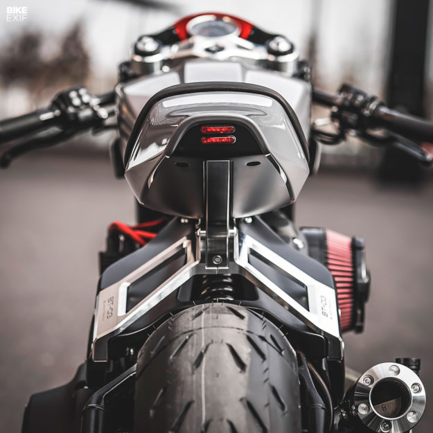 Harley-Davidson Fat Bob custom by Blacktrack Motors