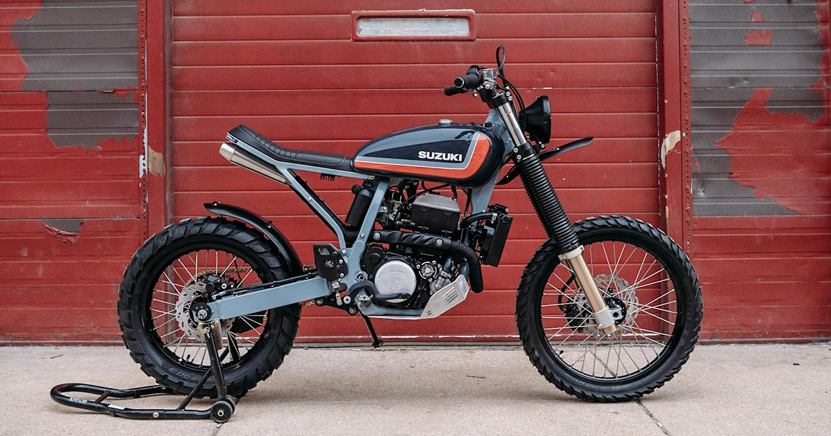 Feel the Illinoise: A DR-Z400 for the streets of Chicago