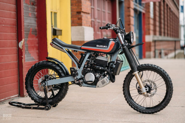 A custom Suzuki DRZ400 by Federal Moto