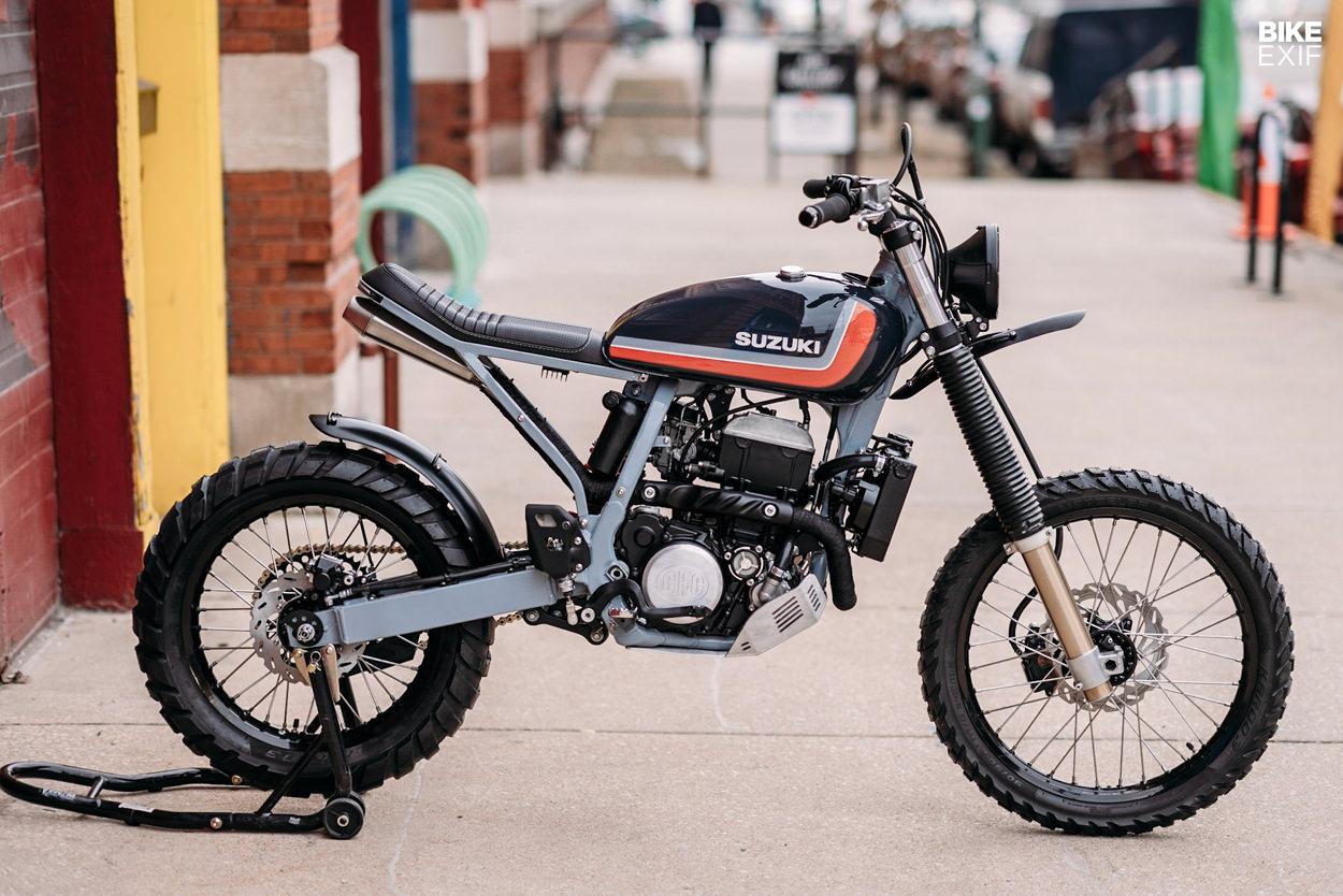 A custom Suzuki DRZ400 by Federal Moto