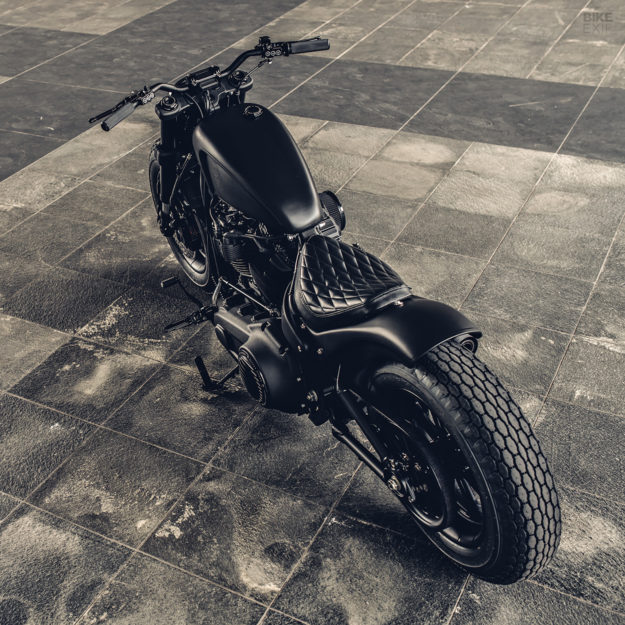 Mighty Guerrilla: A Harley-Davidson Fat Bob by Rough Crafts