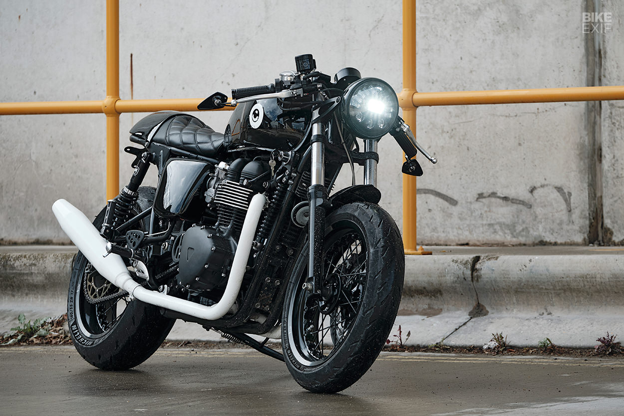 Textbook Refresh: Untitled upgrades the Triumph Thruxton 900