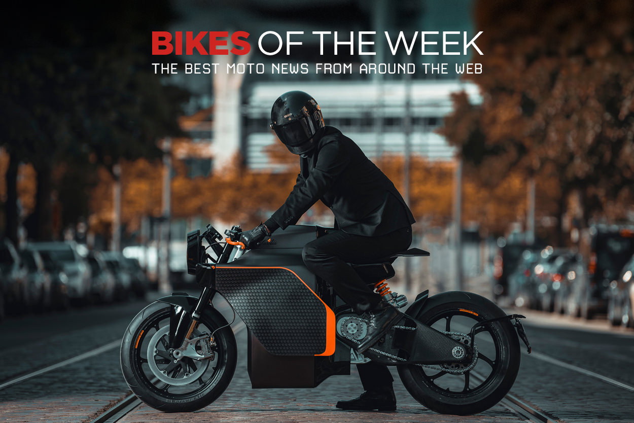 The best electric motorcycles, scramblers and classics from around the web.