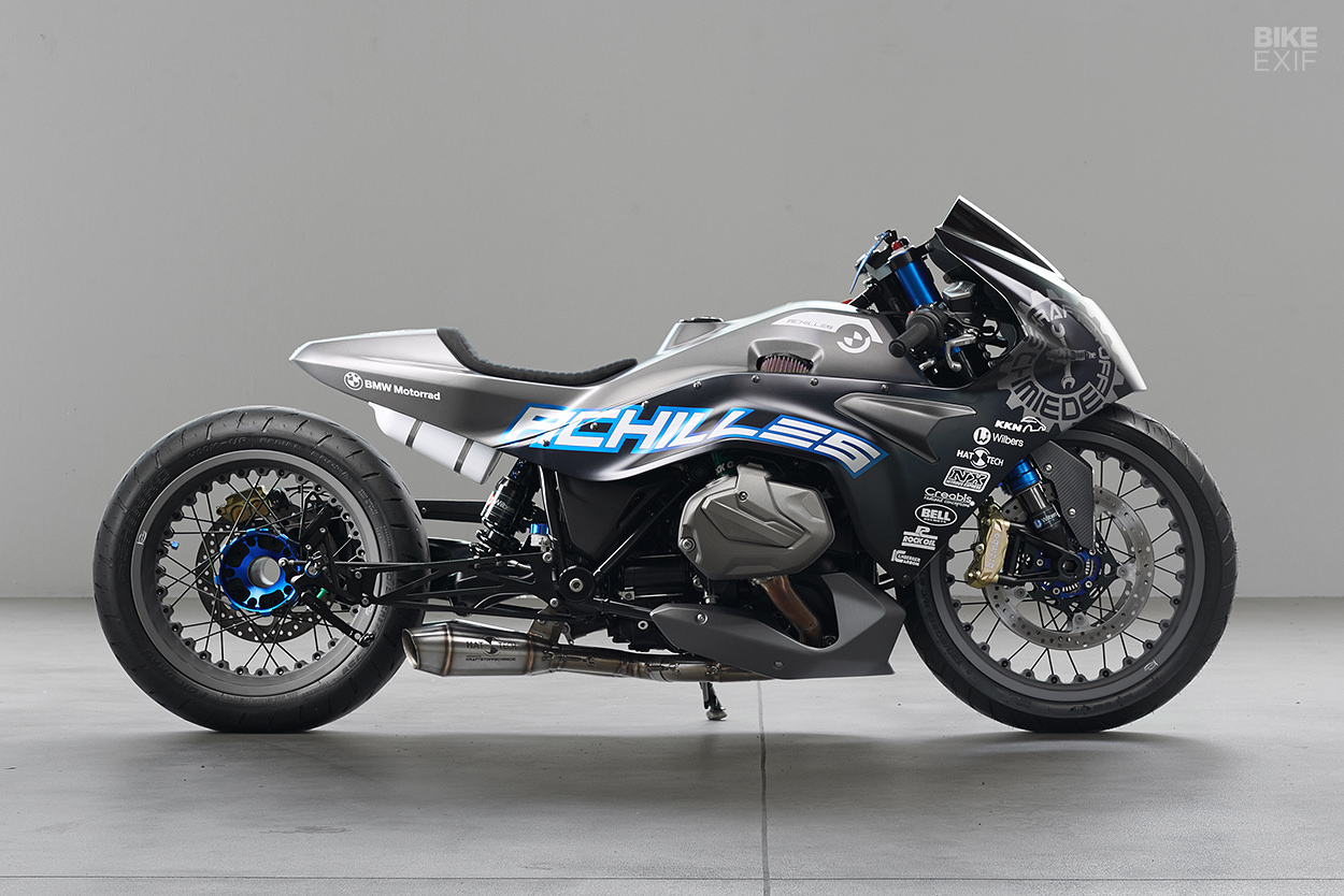 Achilles Bmw S New R1250rs Gets The Drag Bike Treatment Bike Exif