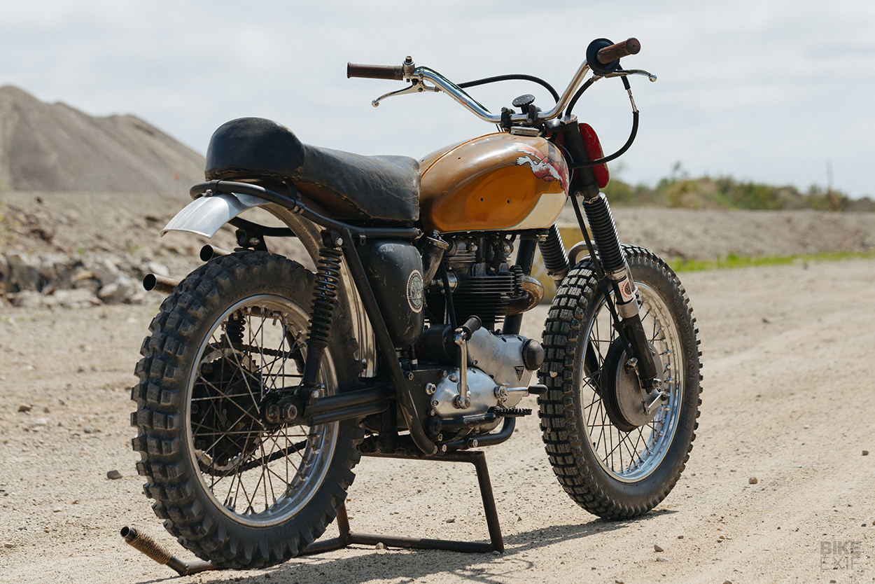 How to build a Triumph Desert Sled: A period correct ground-up build by Hello Engine