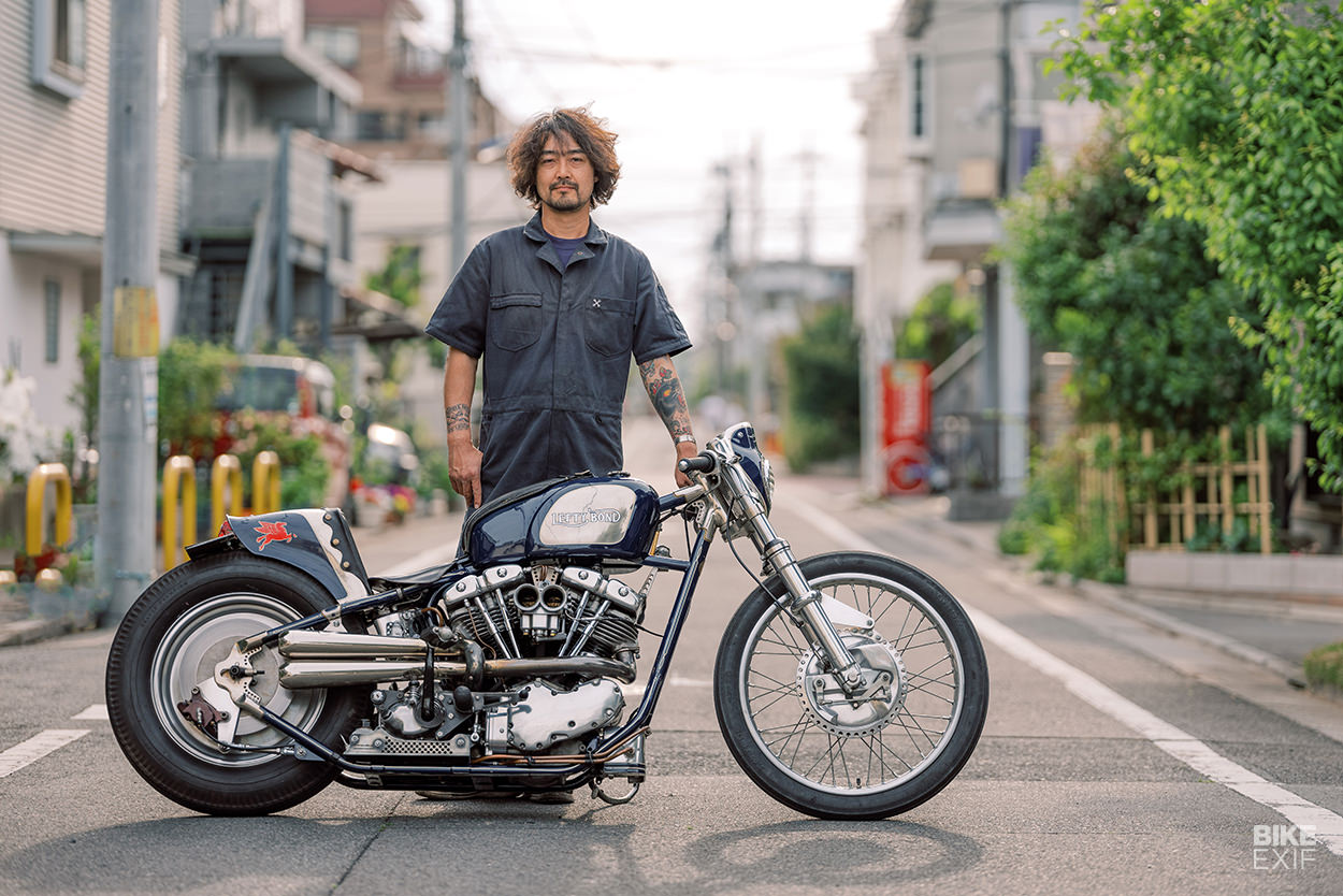 Cherry's Company custom Harley shovel