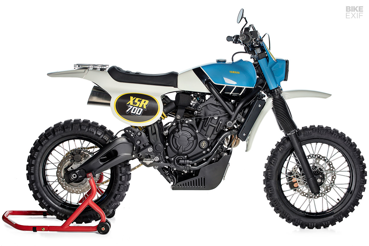 Yamaha Scrambler An Xsr700 That Evokes The It Enduros