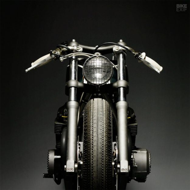 Gorilla Punch: Honda CB750 cafe racer by Wrenchmonkees