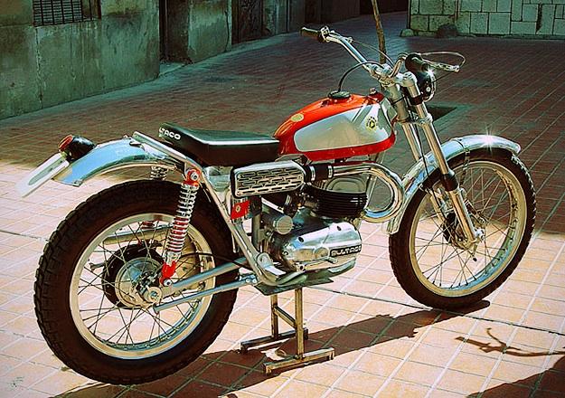1967 Bultaco Sherpa T Model 27 San Antonio, copyright Colección Hermanos Lozano