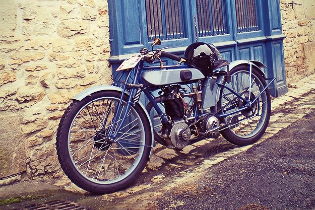 Terrot racer with 350cc JAP engine