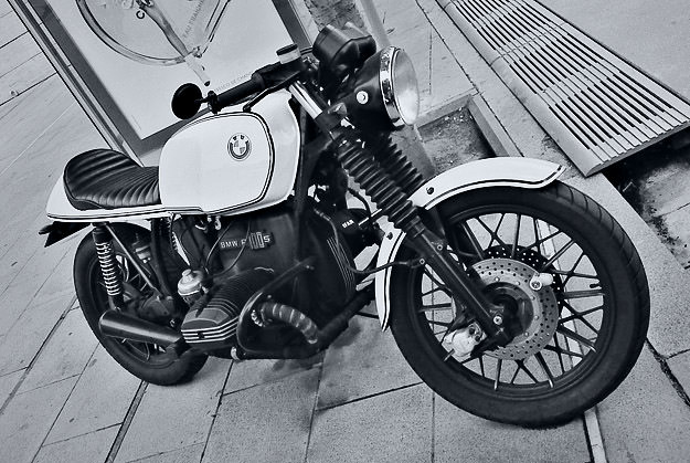 BMW R100S cafe racer