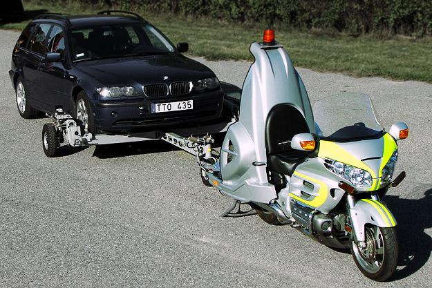 Coming Through Retriever motorcycle